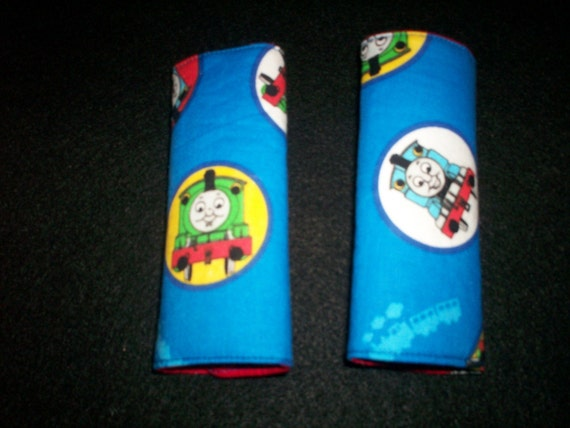 thomas the train and friends car seat strap covers toddler or. Black Bedroom Furniture Sets. Home Design Ideas