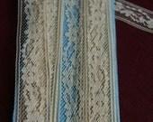 Vintage Beige Lace- 3 Yards