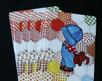 Vintage Boy Playing Cards- Set of 10