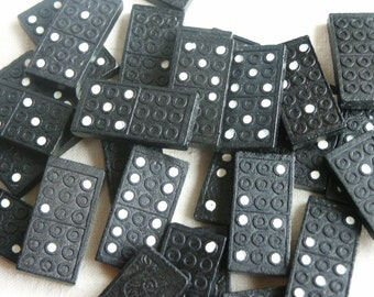 Dominoes Game Pieces- Set of 8