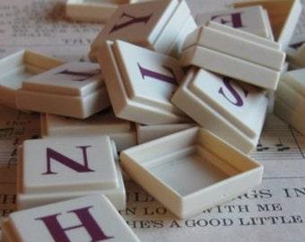 Letter Tiles----Random Set of 10