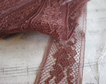 Brown Lace- 3 Yards