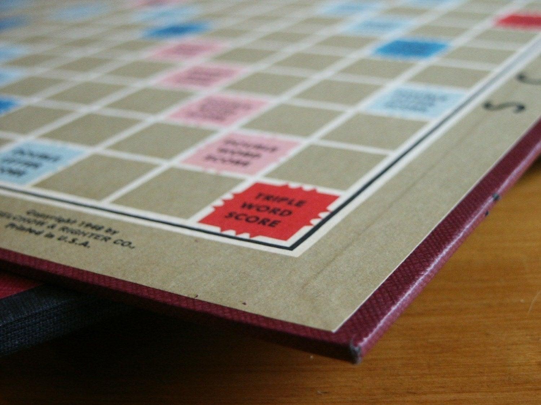 Vintage Scrabble Board
