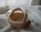 Small Crocheted Basket