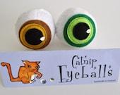 Cat Toy - Catnip Eyeballs (Pair) - Catnip - Pet Toy
