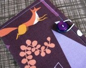 Fox Tea Bag Holder / Mini Wallet