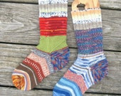 CUSTOM ORDER FOR LUCY - Crazy Socks - ladies 7