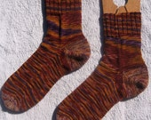 Ladies womens cashmere wool socks - super soft - L or XL