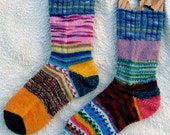 Crazy Socks - ladies small / medium 8.25""