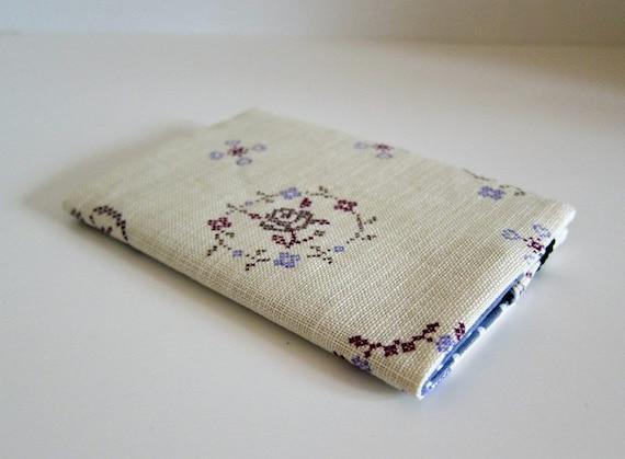 Sleek passport cover -- Japanese Linen