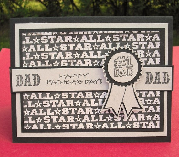 Happy Father's Day Greeting Card, All Star Dad Sports Lover