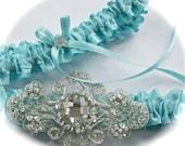 45 Custom Color Wedding Garter Set,Garters,Bride Garters