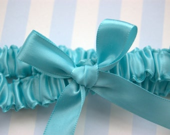 Custom Color Satin Tossing Garter