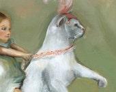 Cat Art- Eunice