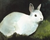 Darkness - Rabbit Art, Archival print
