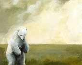 Homeless- Polar Bear Art