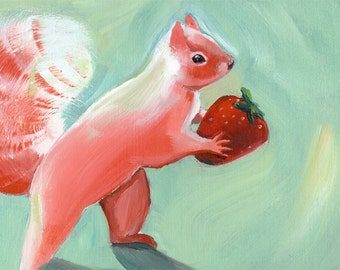 Pink Squirrel print