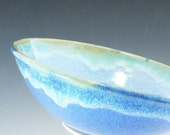 Ocean Bowl / Handmade Wheel Thrown Pottery