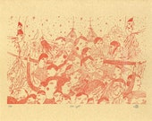 Iron light-Letterpressed print