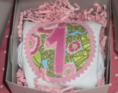 Pink Peony Cupcake Birthday Shirt - Customize with your birthday number
