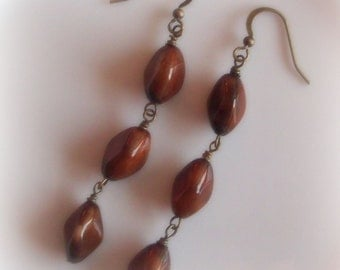 ONLY PAIR - French Roast Earrings