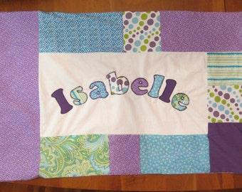 Personalized Patchwork Pillowcase