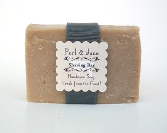 Shaving Bar Soap- Goat Milk Soap