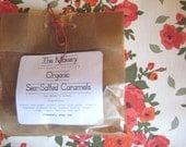 CUSTOM ORDER for YarnMiracle 2 Baker's Dozen Organic Sea-Salted Caramels