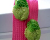 SALE Lettuce Be Suggestive- Vintage Poly Earrings