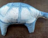 CLARK the Clark Park Turtle, 100% cotton plush pillow toy