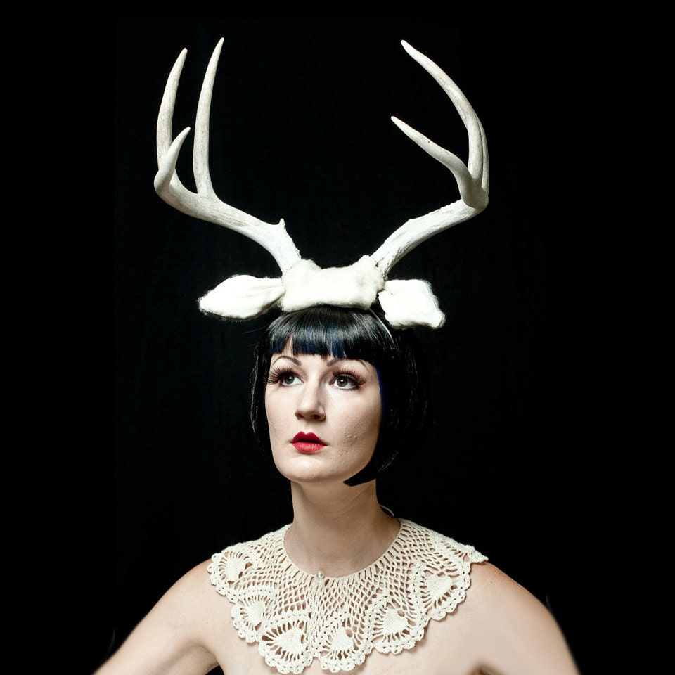 Oct 24, · Costume antlers fit differently on a human head than a deer's. To make the appearance most realistic, you have to do some things artificial. The top of a deer's skull where the antlers .