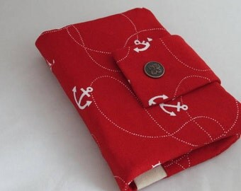 Sunny marine passport wallet/ holder with coin compartment