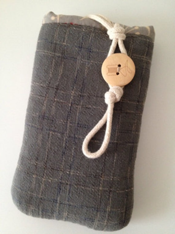 Genuine handmade Kyoto iphone 5s wallet pouch