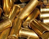 6 Shell casings,   Gun  brass casings used casings for jewelry making and altered art  brass metal bullet shell casings hunting shooting