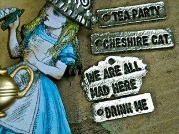 ryonenh  reserved listing please do not purchase  cheshire cat alice in wonderland charm pewter  quote quantity two