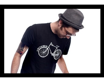 The Way To Go Since 1817 Bicycle Tshirt (SMALL)