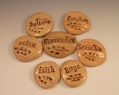 Inspirational Stones  Set of Seven