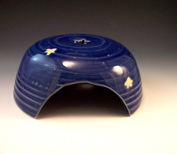 Starry Nights  Pottery Toad House-Discounted