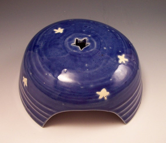 Starry Nights  Pottery Toad House