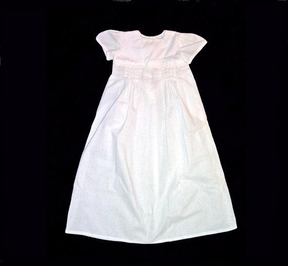 Summer Sensations Blessing Gown SIZE NEWBORN