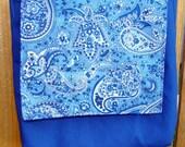 Blue Messenger Bag, reserved for TannerCustomCraft