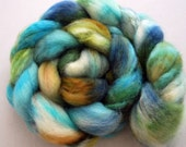 Spring Forest-Superwash Blue Faced Leicester Combed Top