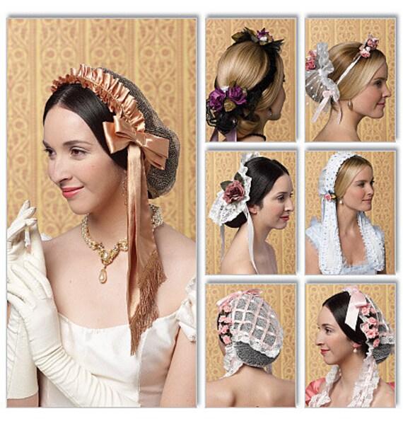 Diy Sewing Pattern-Butterick 5663-Victorian Hats, Bonnets