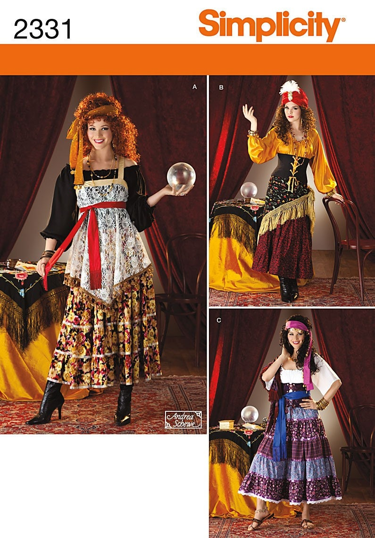 Fortune Teller Costume Diy