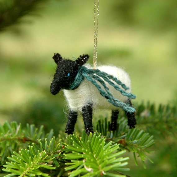 Needlefelted Suffolk Lamb
