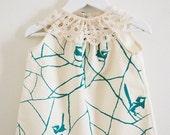 Twiglet Eartha Dress in Wrens Size 3-4