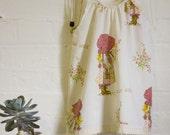 Holly Hobbie Vintage Style Boho Dress Size 1