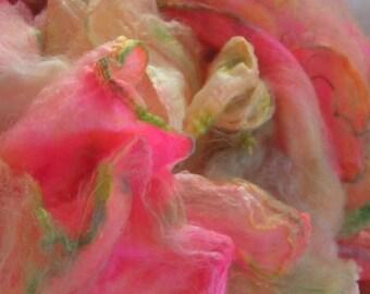 PUCCI Mawata Hand Painted Silk Hankies KNITPACK 42 gram Knit Spin Fusion Nuno Felt Crafts