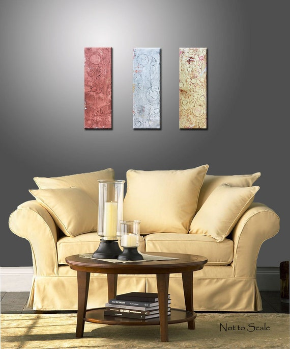 Abstract Original Textured Modern Painting in Metallic Silver, Gold and Copper - Title, Weathered Metal 2 - 24x24 Inches
