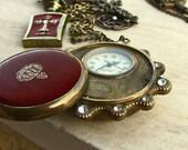 Mens Steampunk Pocket Watch Jewelry